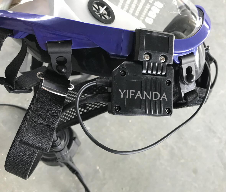 G0M2呼吸器面罩骨传导通讯系统装置单元