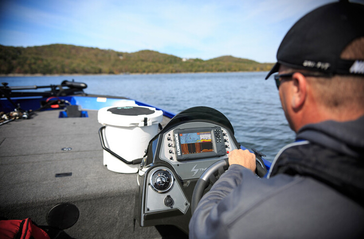 LOWRANCE劳伦斯新款HOOK2-7X声呐筏钓探鱼器下扫侧扫50大探头