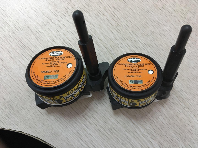 JOTRON静水压力释放器,Tron 40S MkII TRON40S 40GPS示位标释放器